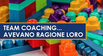 L'evoluzione del Team Coaching