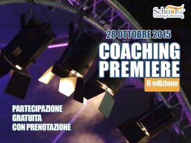 Evento Coaching Premiere